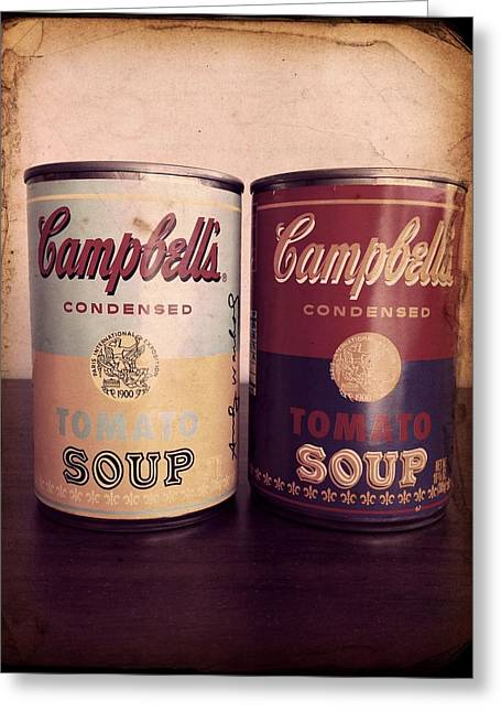 Campbells Redux 2 Greeting Card