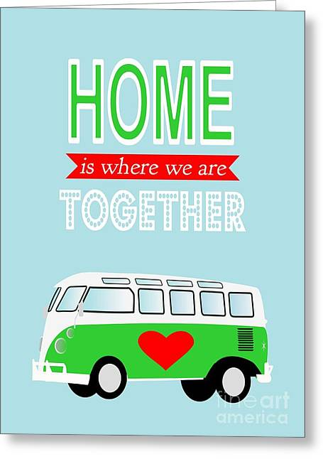 Camper Love Quote Greeting Card