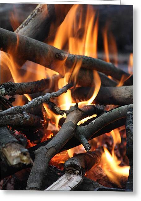 Campfire Greeting Card