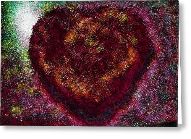 Can You See My Heart Beating? Greeting Card