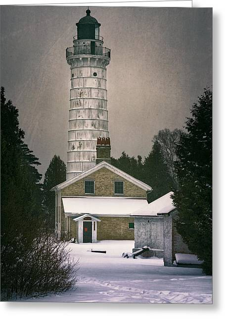 Cana Island Light II Greeting Card