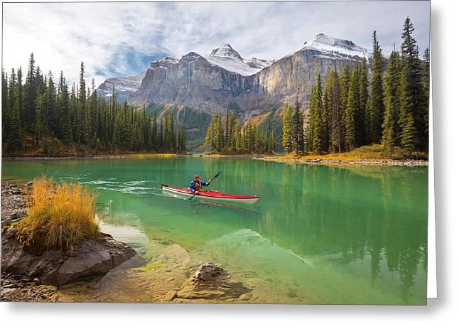 Canada, Alberta, Jasper National Park Greeting Card