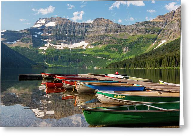 Canada, Alberta, Waterton Lakes Greeting Card by Jamie and Judy Wild