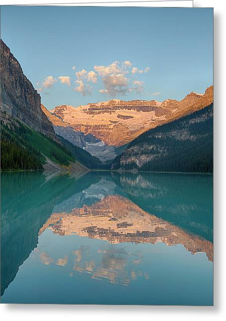 Canada, Banff National Park, Lake Greeting Card by Jamie and Judy Wild