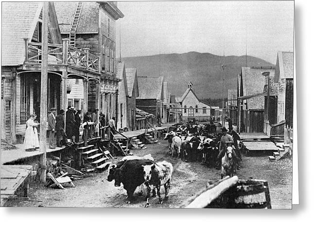 Canada Barkerville Greeting Card