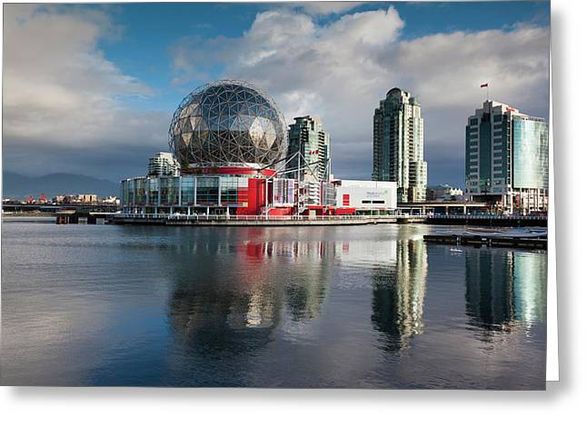 Canada, British Columbia, Vancouver Greeting Card by Walter Bibikow
