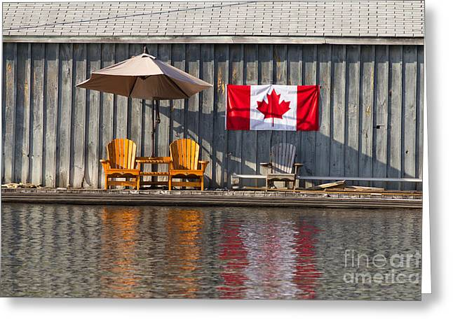 Canada Day In Muskoka Greeting Card