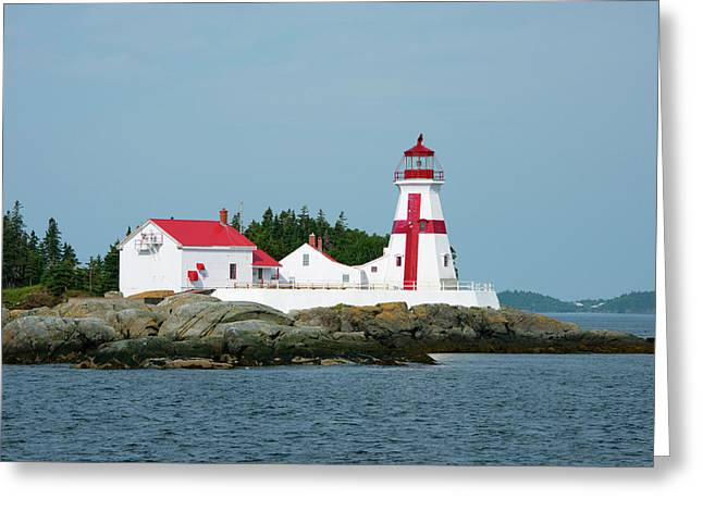 Canada, New Brunswick, Bay Of Fundy Greeting Card by Cindy Miller Hopkins