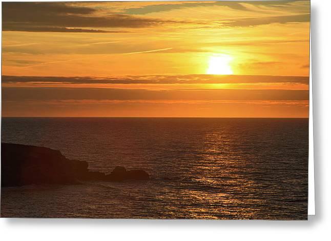 Canada, Nova Scotia, Cabot Trail Greeting Card by Patrick J. Wall