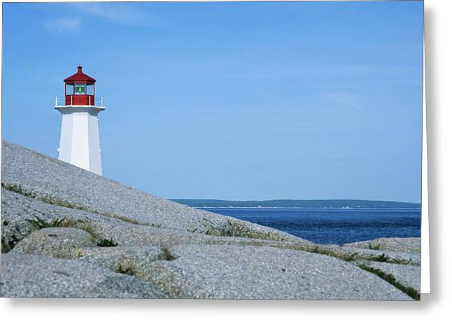 Canada, Nova Scotia, Early Morning Greeting Card