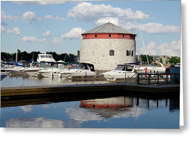 Canada, Ontario, Kingston Greeting Card by Cindy Miller Hopkins