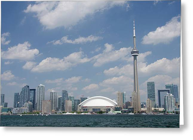 Canada, Ontario, Toronto Greeting Card by Cindy Miller Hopkins