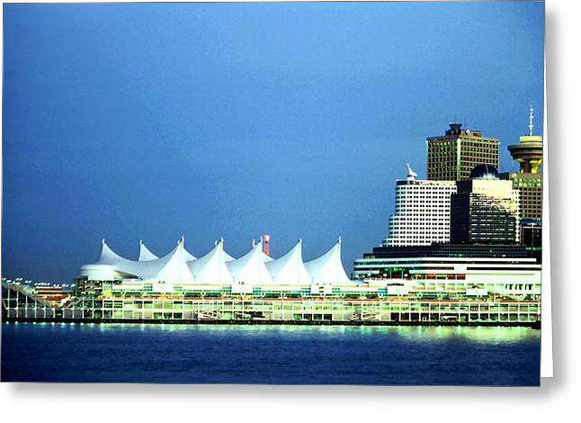 Canada Place Pavilion Greeting Card
