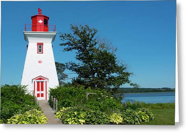 Canada, Prince Edward Island, Victoria Greeting Card by Bill Bachmann