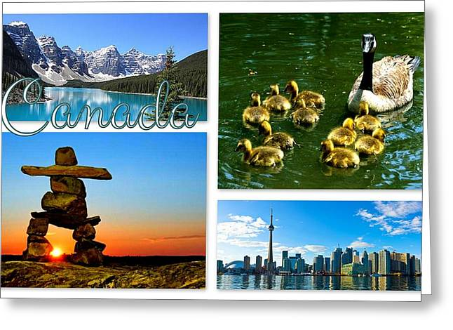 Canada Greeting Card by The Creative Minds Art and Photography