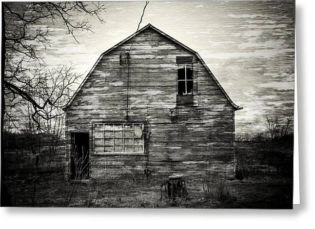 Canadian Barn Greeting Card