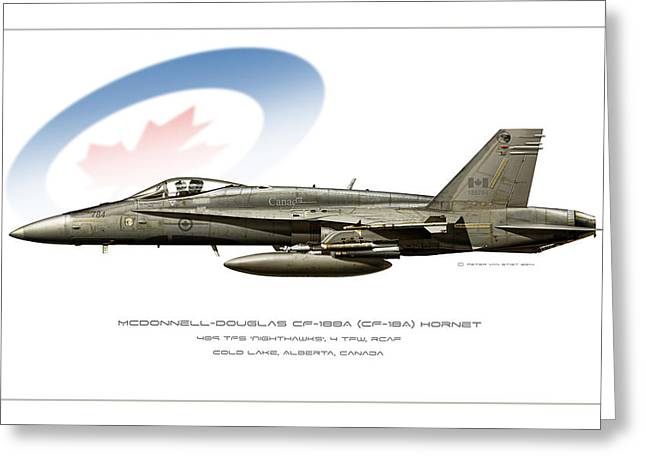 Canadian Hornet Greeting Card by Peter Van Stigt