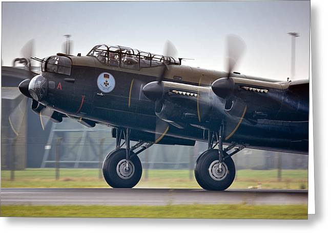 Canadian Lancaster Bomber Greeting Card