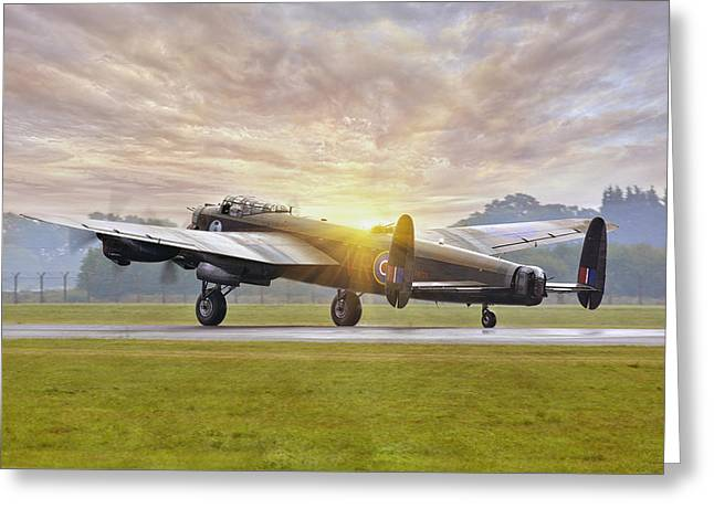 Canadian Lancaster Vera Greeting Card