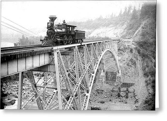 Canadian Pacific Railroad  1892 Greeting Card