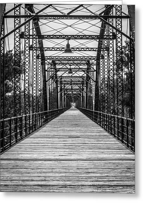 Canadian River Bridge Greeting Card