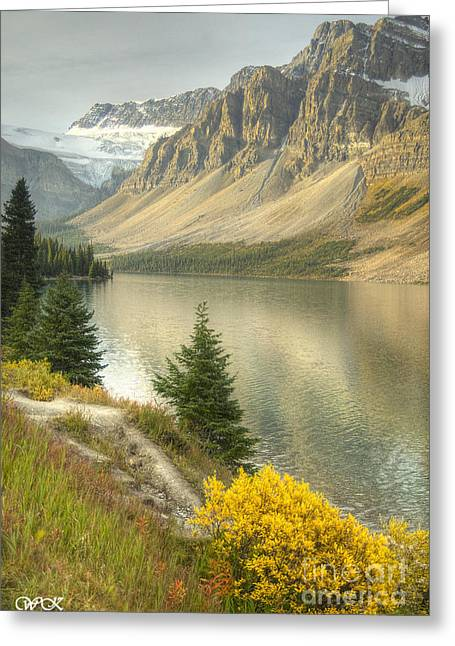 Canadian Scene Greeting Card by Wanda Krack