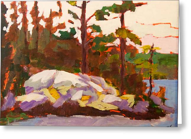 Canadian Shield Haliburton Greeting Card by Keith Thirgood