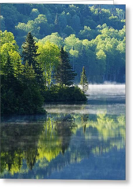 Canadian Summer Morning Greeting Card