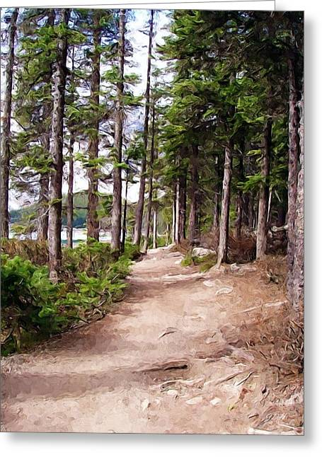 Canadian Trail Greeting Card