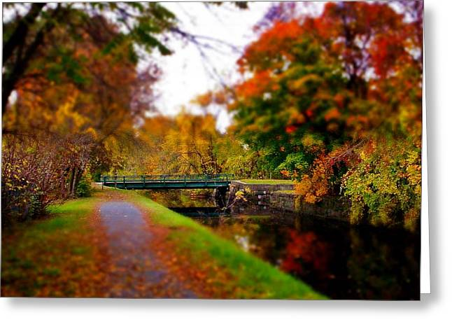 Canal Dream Greeting Card by Rodney Lee Williams