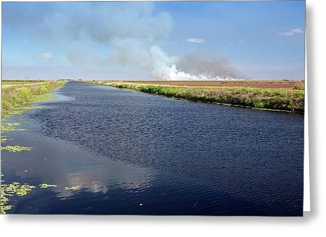 Canal Greeting Card by Jim West