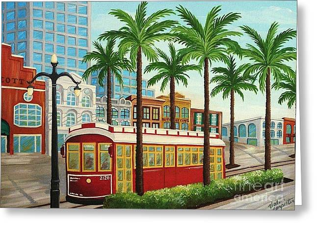 Canal Street Car Line I I Greeting Card