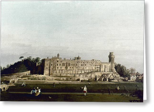 Canaletto Warwick Greeting Card