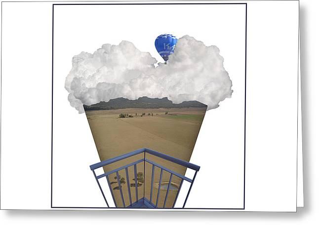 Canberra Icecream Greeting Card by Jennifer Kathleen Phillips