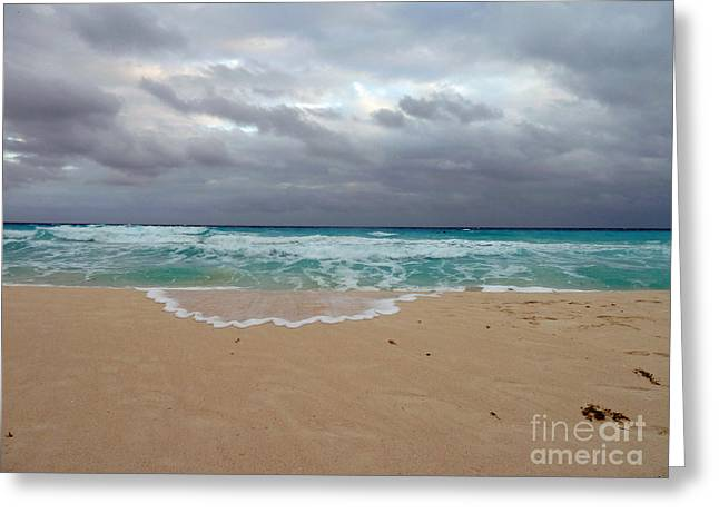 Cancun - Dark Sky Greeting Card