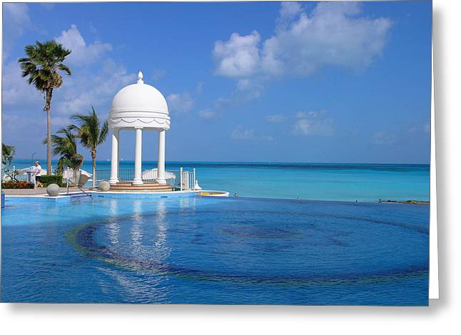 Cancun Temple Greeting Card