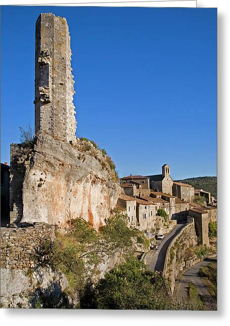 Candela - The Remaining Tower Greeting Card by Panoramic Images