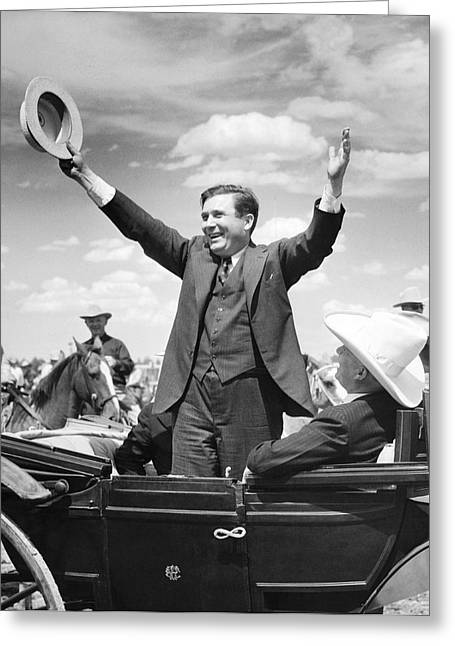 Candidate Wendell Willkie Greeting Card