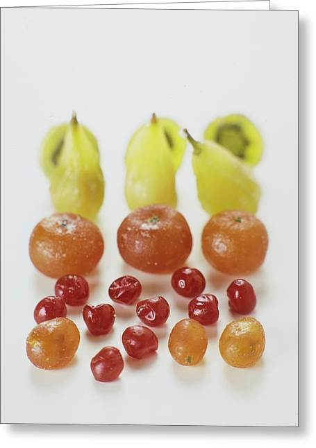 Candied Fruit Greeting Card