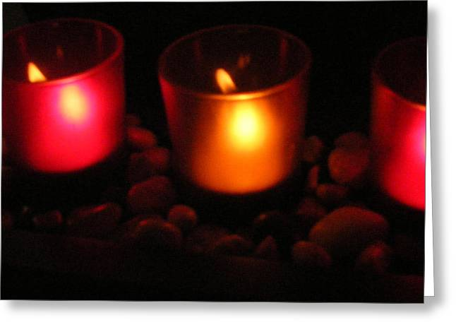 Candle Magick Greeting Card