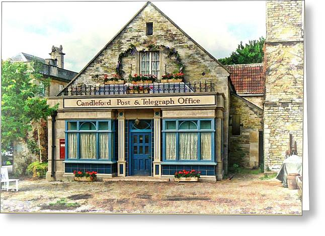 Candleford Post Office Greeting Card