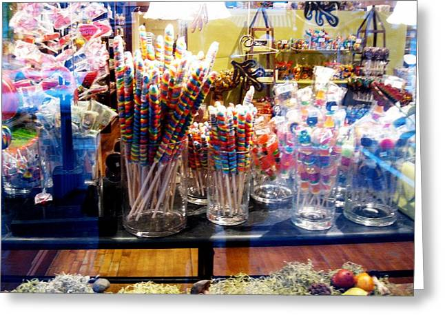 Candy Store 2 Greeting Card by Will Boutin Photos