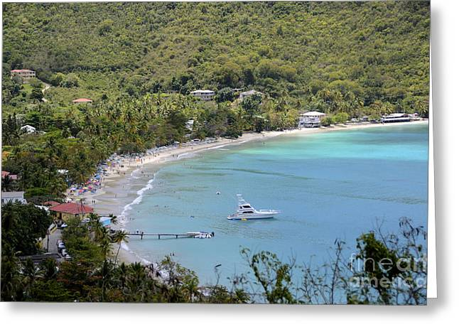 Cane Garden Bay Tortola Greeting Card