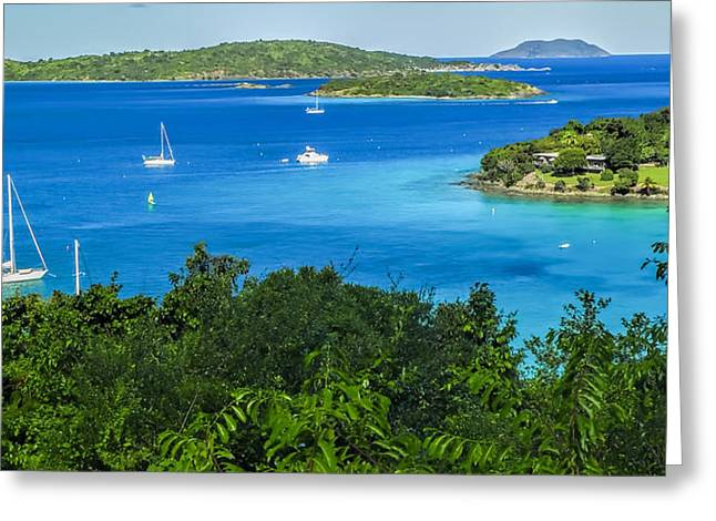 Caneel Bay Greeting Card