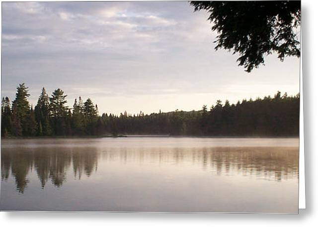 Canisbay Lake - Panorama Greeting Card