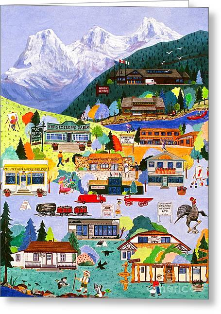 Canmore Art Walk Greeting Card