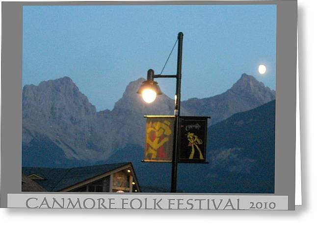 Canmore Folk Festival Greeting Card