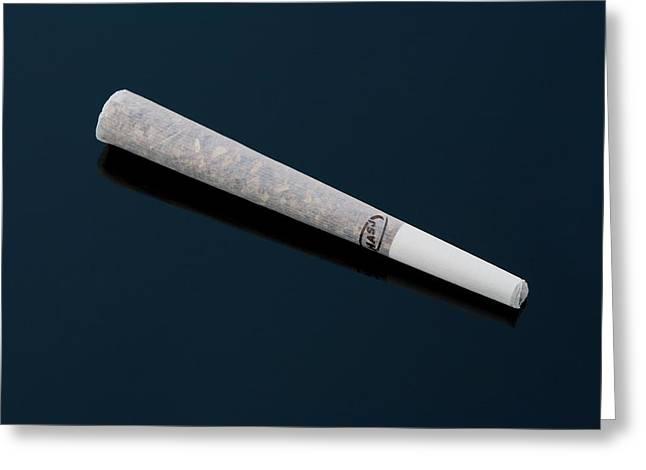 Cannabis Cigarette Greeting Card