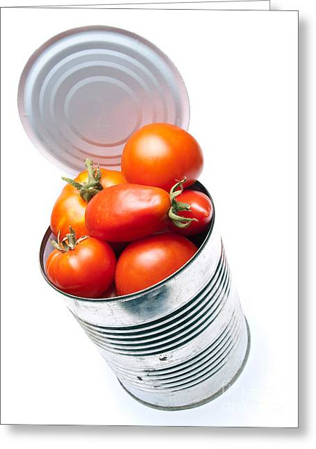 Canned Tomato Greeting Card