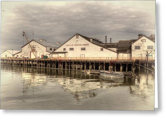 Cannery Greeting Card by Randy Hall